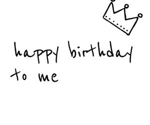 birthday, quote, and happybirthday image