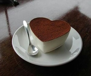 heart, food, and chocolate image
