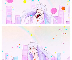anime, isla, and plastic memories image