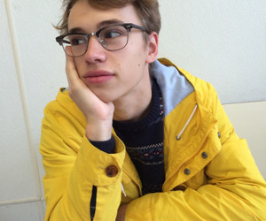 boy, yellow, and cute image