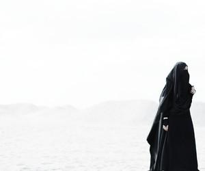 beauty, hijab, and khimar image