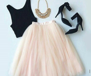 clothes, prom party, and cute fashion style image