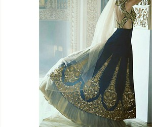 dress and india image