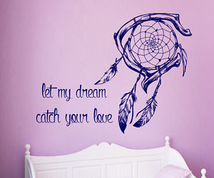 dream catcher and quote image