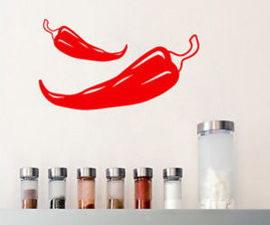 red hot chili peppers and wall decals image