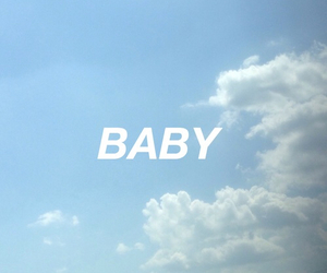 blue, baby, and sky image