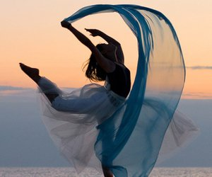 dance and sunset image