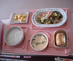 food and layout image