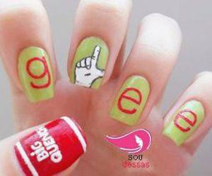 glee and nails image