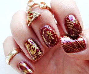 harry potter, book, and nails image