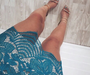 fashion, clothes, and high heels image