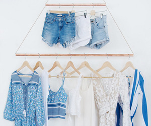 blue, diy, and clothes image