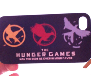 case, hungergames, and iphone4 image