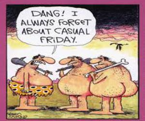 cavemen, friday, and funny image