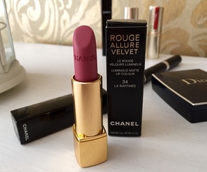chanel, lipstick, and beauty image