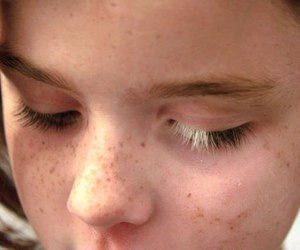 beautiful, lashes, and freckles image