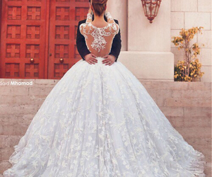 bride, church, and dress image
