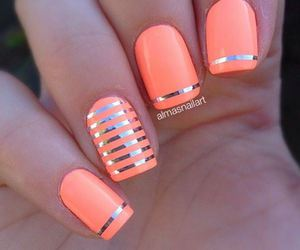 girl, nail art, and decoracion de uñas image