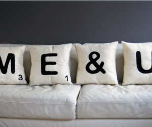 me, pillow, and text image