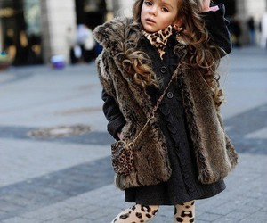 blondie, fashion, and faux fur image
