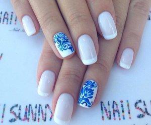 beauty, nails, and nail art image