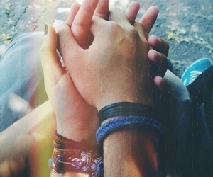 couple, hand, and love image