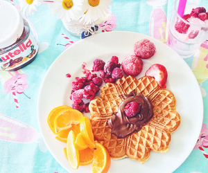 berries, chocolate, and healthy image