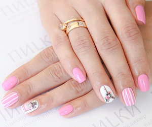 chanel, design, and manicure image