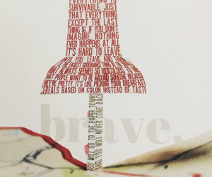 brave, john green, and paper towns image