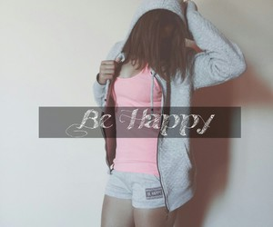 be, happy, and life image