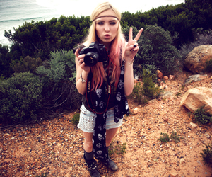 blond, camera, and cape town image