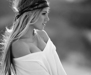 blond, profile, and cute image