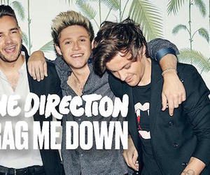 new album, new song, and drag me down image