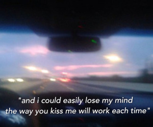 car, quote, and love image