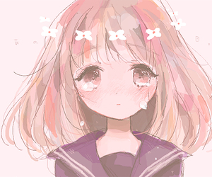 78 Images About Sad Anime Girl On We Heart It See More About