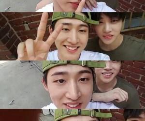 Ikon, jinhwan, and hanbin image