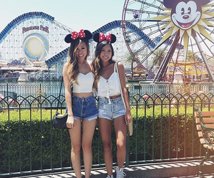 disney, outfit, and friends image