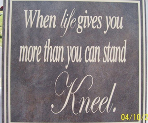 kneel, god, and pray image