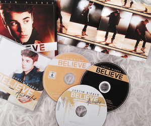 believe, cd, and justin image