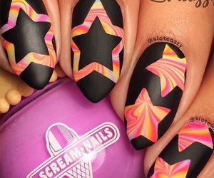 nails, cool, and stars image