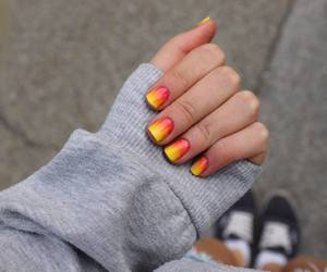 cool, nails, and fashion image
