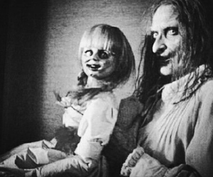 doll, horror, and annabelle image