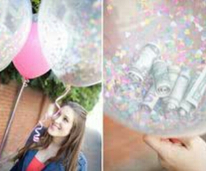 diy, balloons, and money image