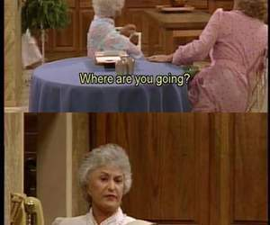 funny, golden girls, and quotes image