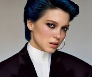 bluehair, cool, and Lea Seydoux image