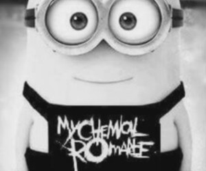 mcr, minions, and my chemical romance image