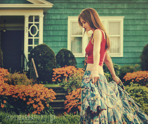 girl, photography, and house image