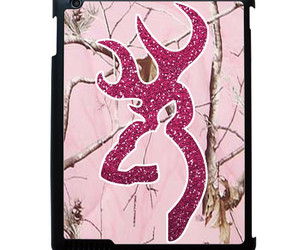 unique, ipad case, and browning deer image