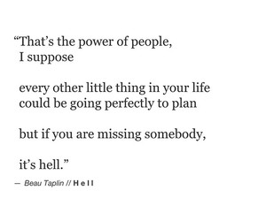 quote, hell, and life image