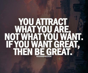 quotes, great, and attract image